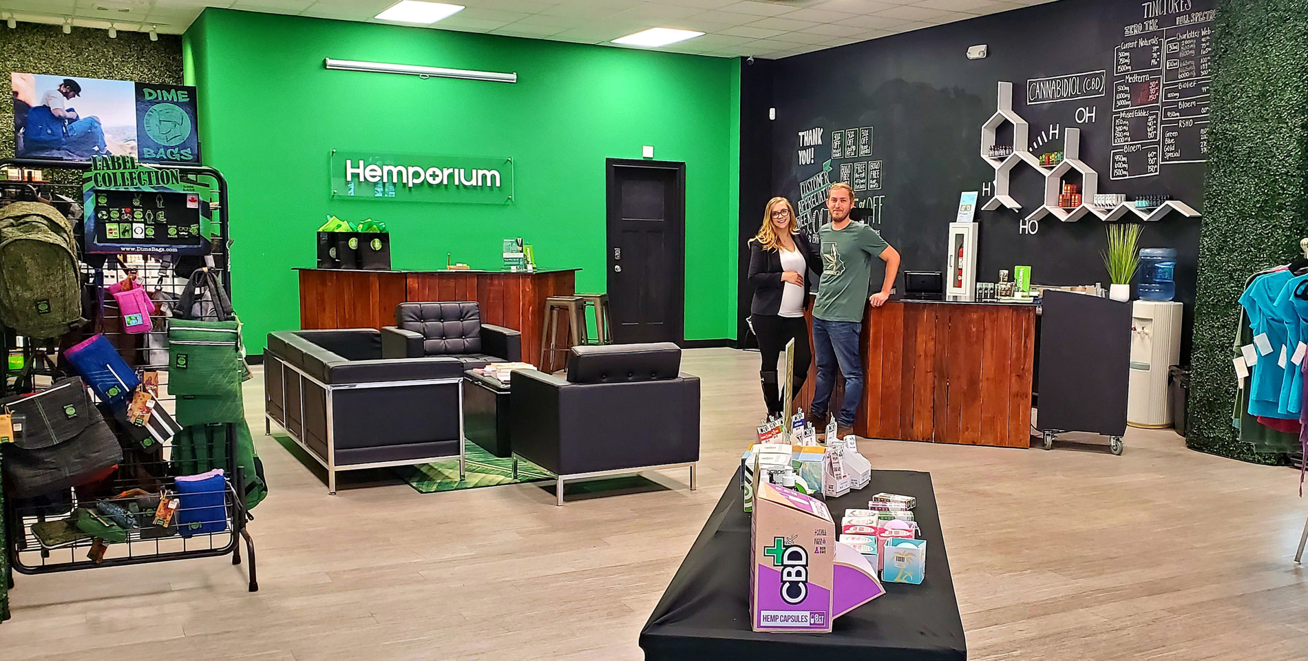 Hemporium Store Picture Greg and Rachel Lee | Hemporium | CBD shop springfield mo